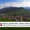 Varzi, porticoes, wine and salami | Italia Slow Tour